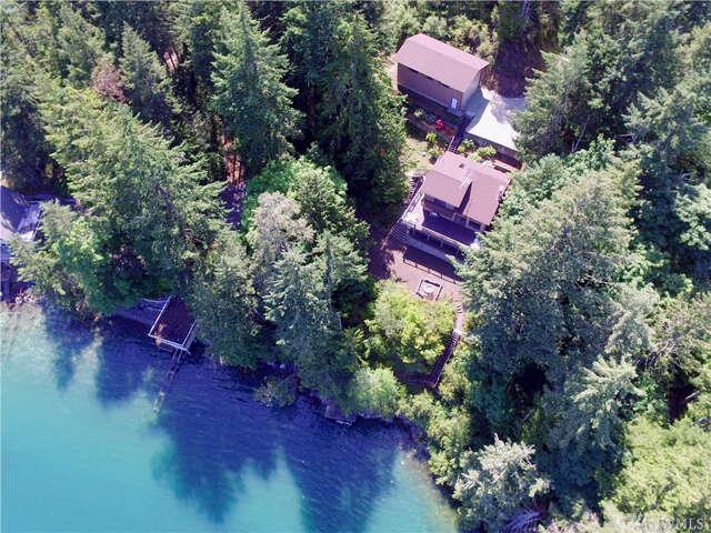 Single Family for Sale at 101 Mcdonald Cove Rd Brinnon, Washington 98320 United States