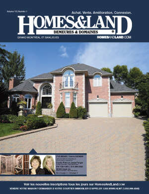 HOMES & LAND Magazine Cover. Vol. 09, Issue 12, Page 19.