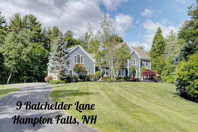 Single Family for Sale at 9 Batchelder Lane Hampton Falls, New Hampshire 03844 United States