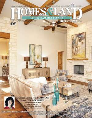 HOMES & LAND Magazine Cover. Vol. 27, Issue 08, Page 1.