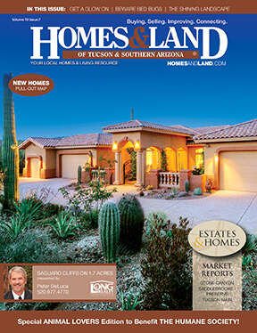 HOMES & LAND Magazine Cover. Vol. 19, Issue 07, Page 4.