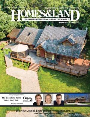 HOMES & LAND Magazine Cover. Vol. 03, Issue 06, Page 6.