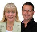 Lynne Mallette, Broker & Mike McDonald Sales Rep, London Real Estate