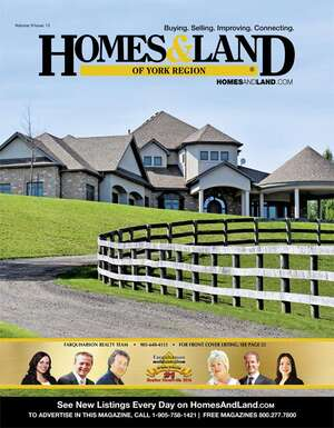 HOMES & LAND Magazine Cover. Vol. 09, Issue 13, Page 25.