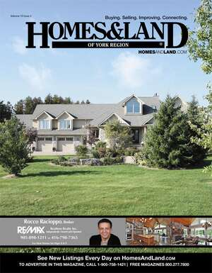 HOMES & LAND Magazine Cover. Vol. 10, Issue 02, Page 8.