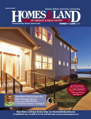 HOMES & LAND Magazine Cover. Vol. 30, Issue 09, Page 23.