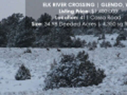 Single Family for Sale at Elk River Crossing Glendo, Wyoming 82213 United States
