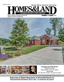 HOMES & LAND Magazine Cover. Vol. 21, Issue 01, Page 8.
