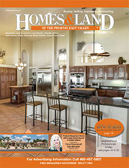 HOMES & LAND Magazine Cover. Vol. 22, Issue 12, Page 15.