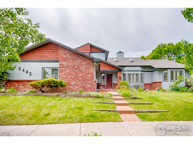 Single Family for Sale at 5485 Baca Circle Boulder, Colorado 80301 United States