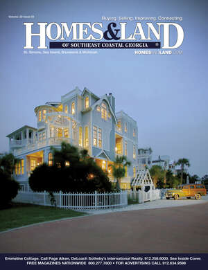 HOMES & LAND Magazine Cover. Vol. 20, Issue 03, Page 001.