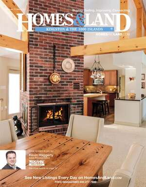 HOMES & LAND Magazine Cover. Vol. 11, Issue 13, Page 22.