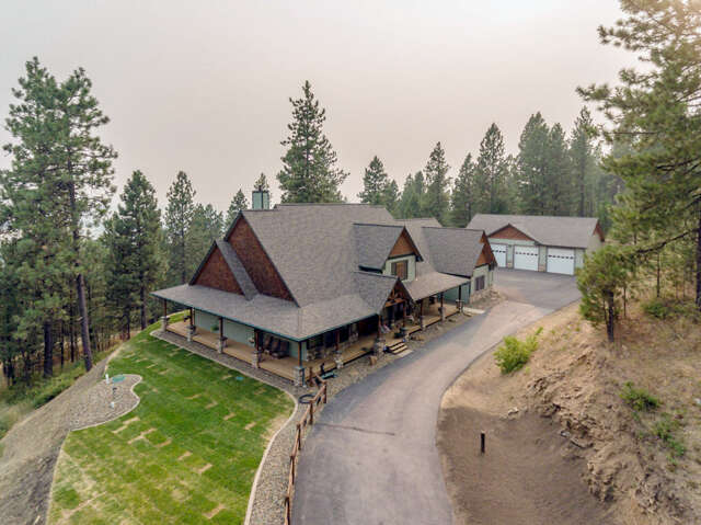 Single Family for Sale at 16939 Painted Rose Rd Worley, Idaho 83876 United States