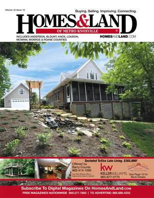 HOMES & LAND Magazine Cover. Vol. 22, Issue 10, Page 10.
