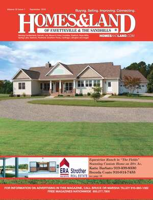 HOMES & LAND Magazine Cover. Vol. 20, Issue 01, Page 12.