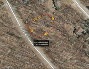 Land for Sale, ListingId:56009357, location: Whispering Pines Drive Gaylord 49735