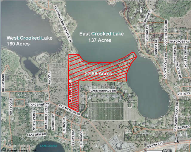 Investment for Sale at Interlaken Lane Eustis, Florida 32726 United States