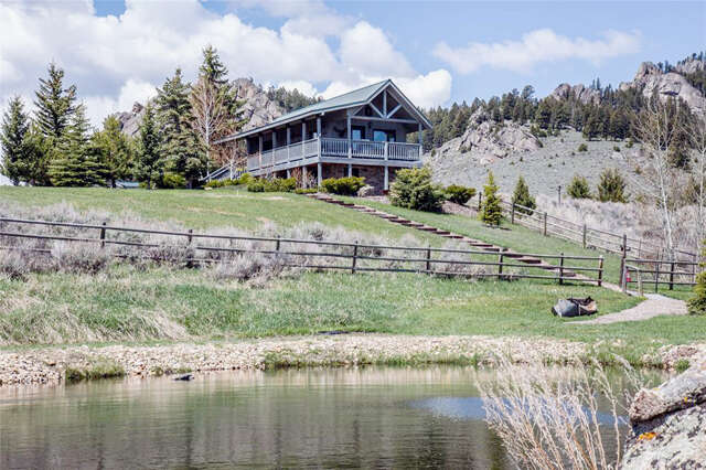 Single Family for Sale at 720 North Meadow Creek Road McAllister, Montana 59740 United States