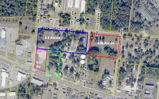 Land for Sale at W Us-90 Lake City, Florida 32055 United States