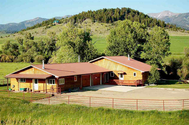 Single Family for Sale at 153 Horse Creek Road North Wilsall, Montana 59086 United States