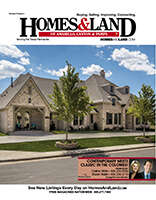 HOMES & LAND Magazine Cover. Vol. 09, Issue 04, Page 6.