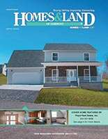 HOMES & LAND Magazine Cover. Vol. 32, Issue 08, Page 4.