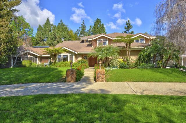 Single Family for Sale at 11411 East Las Posas Road Santa Rosa Valley, California 93012 United States