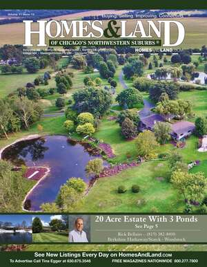 HOMES & LAND Magazine Cover. Vol. 11, Issue 13, Page 5.