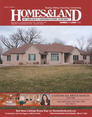 HOMES & LAND Magazine Cover. Vol. 12, Issue 02, Page 2.