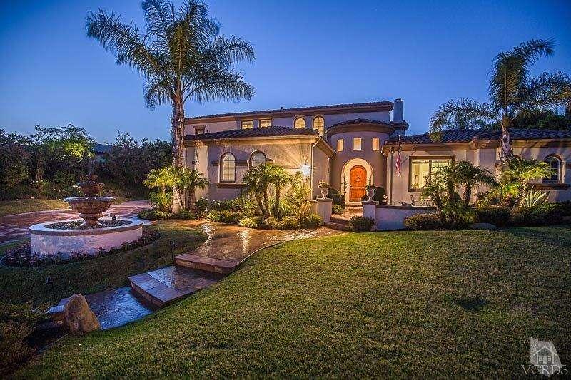 Single Family for Sale at 5277 Via Andrea Newbury Park, California 91320 United States