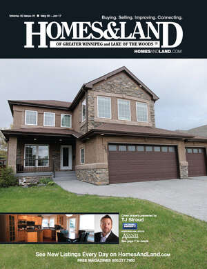 HOMES & LAND Magazine Cover. Vol. 03, Issue 01, Page 7.