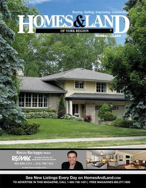 HOMES & LAND Magazine Cover. Vol. 09, Issue 09, Page 9.