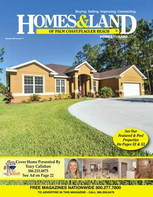 HOMES & LAND Magazine Cover. Vol. 42, Issue 11, Page 22.
