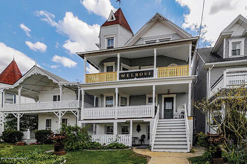 Single Family for Sale at 34 Seaview Avenue Ocean Grove, New Jersey 07756 United States