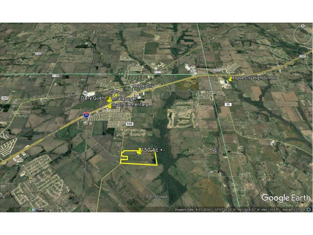 Land for Sale at 4000 Fm 548 Royse City, Texas 75189 United States