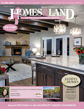 HOMES & LAND Magazine Cover. Vol. 19, Issue 10, Page 3.