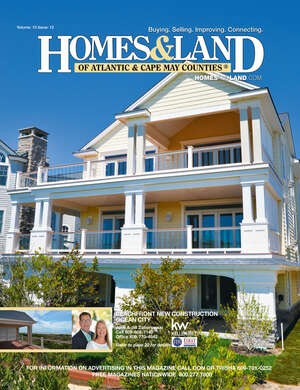HOMES & LAND Magazine Cover. Vol. 10, Issue 13, Page 22.