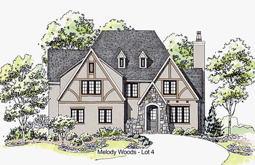 Single Family for Sale at 1418 Melody Woods Ct Charlotte, North Carolina 28209 United States