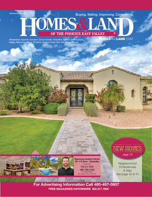 HOMES & LAND Magazine Cover. Vol. 23, Issue 03, Page 10.
