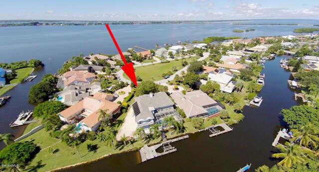 Single Family for Sale at 557 Lanternback Island Drive Satellite Beach, Florida 32937 United States