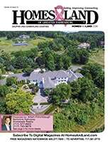 HOMES & LAND Magazine Cover. Vol. 01, Issue 12, Page 19.