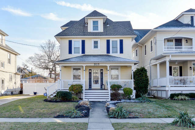Single Family for Sale at 315 4th Avenue Bradley Beach, New Jersey 07720 United States