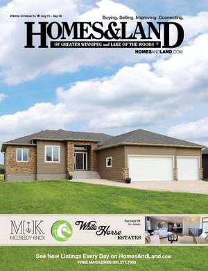 HOMES & LAND Magazine Cover. Vol. 03, Issue 04, Page 10.