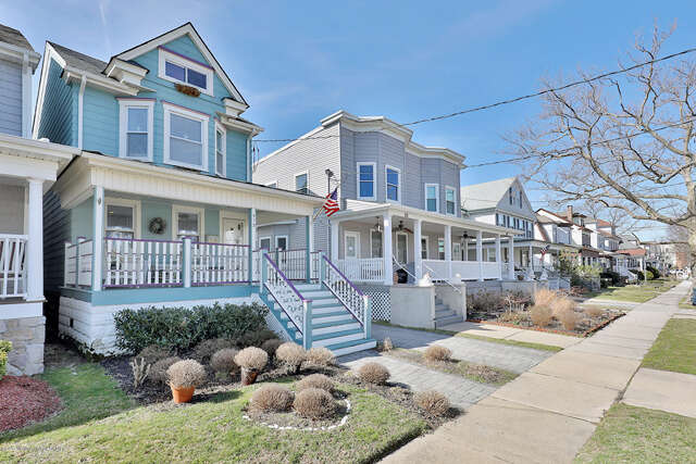 Single Family for Sale at 513 8th Ave. Belmar, New Jersey 07719 United States