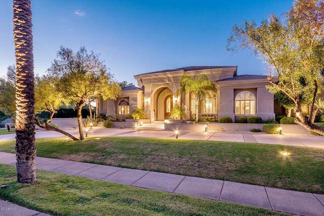 Single Family for Sale at 7750 E Vaquero Drive Scottsdale, Arizona 85258 United States