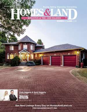 HOMES & LAND Magazine Cover. Vol. 11, Issue 09, Page 2.