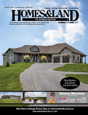 HOMES & LAND Magazine Cover. Vol. 08, Issue 10, Page 2.