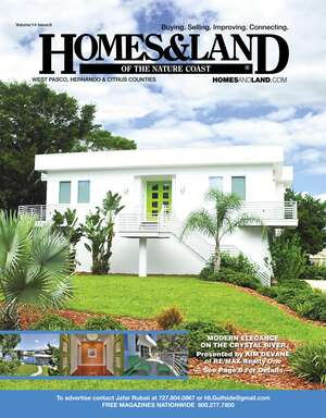 HOMES & LAND Magazine Cover. Vol. 14, Issue 06, Page 8.