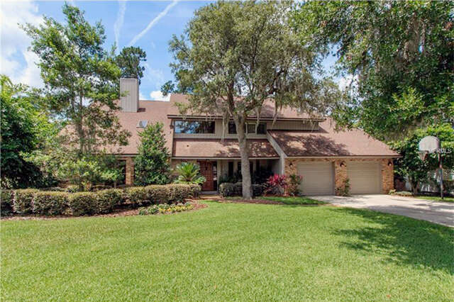 Single Family for Sale at 8041 Lake Waunatta Drive Winter Park, Florida 32792 United States