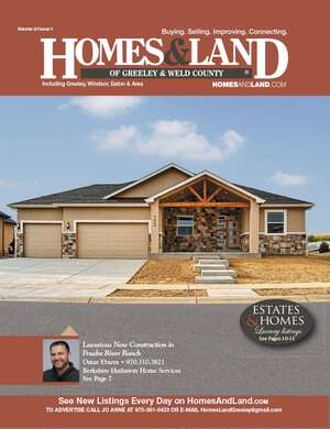 HOMES & LAND Magazine Cover. Vol. 31, Issue 01, Page 7.